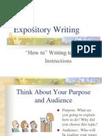 Expository English Writing