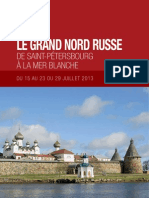 Le grand nord russe, de Saint-Pétersbourg à la mer Blanche