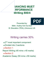 Guidelines for Muet Writing