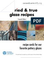33 tried and true glaze recipes