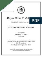 State of the City 2013 Invite
