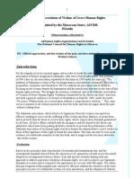 Memorandum Sahrawi Association of Victims of Grave Human Rights