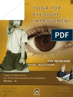 Yoga for Eye sight Improvement