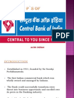 7 PS OF CENTRAL BANK OF INDIA