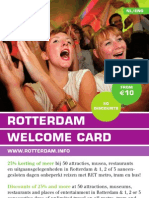 Flyer Rotterdam Welcome Card