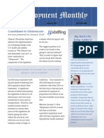 RJ-Staffing's First Monthly Newsletter