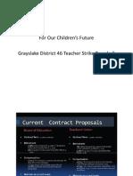 Grayslake D46 Tonwhall Meeting Presentation  1/16/2013