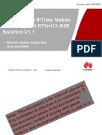 HLD Guide to IPTime Mobile Bearer Hybrid RTN+CX B2B Solution V1.1