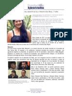 RESEÑA EN EL CASO DEL ASESINATO DE KELLY MARGOTH DÍAZ REYES, 17 AÑOS
