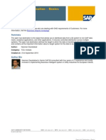SAP BI (OPEN HUB DESTINATION)