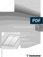 Painel Plano Incorporado No Telhado Fkc