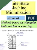 FSM minimization