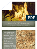 Unidad 8 Rómulo y Remo - Elmer Yesid Saavedra Pérez