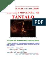 (7) Ciencia y Mitología - Tántalo