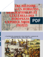 l'élargissement du monde Xv XVI  version projetable