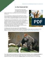 Fuengirola Bioparc Zoo Costa del Sol Spain