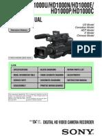 HVR-HD1000 V1