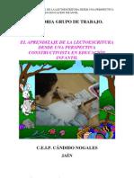 EL APRENDIZAJE DE LA LECTOESCRITURA DESDE UNA PERSPECTIVA CONSTRUCTIVISTA EN EDUCACIÓN INFANTIL