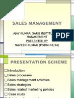 Sales Management_ Presentation _ Naveen