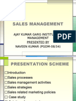 Sales Management_ Presentation _ Naveen