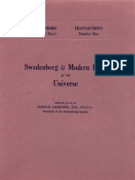 Harold Gardiner SWEDENBORG, and MODERN IDEAS of THE UNIVERSE The Swedenborg Society London 1936
