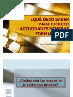 Mineros Informales Peru