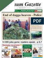 Platinum Gazette 18 January 2012
