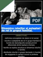 Dinamica Rolurilor in Familie