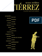 Gutierrez, Antología