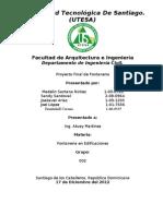 DISEÑO DE ACOMETIDAS DE AGUA POTABLE Y AGUAS RESIDUALES EN EDIFICIO DE 2 NIVELES