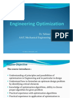 Introduction to Engineering Design Optimization