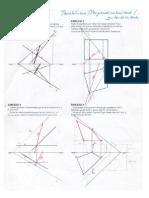 Soluciones al cuadernillo de diédrico 2