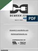 DCWEEK 2012 Recap
