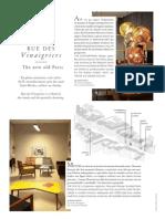 Rue des Vinaigriers - Air France Madame December 2012 - January 2013
