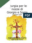 Libretto di Matrimonio Giorgio e Sonia