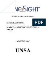 Manual de Minesight Parte 1