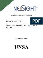 Manual de Minesight Parte 1