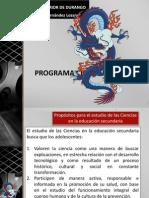 2011 Programa biología