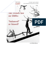 Loi OGM France