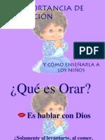 ENSEÑANDO A LOS NIÑOS Y NIÑAS A ORAR