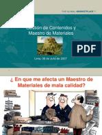 mpr gestion de materiales