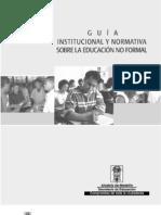 Guia de la Educaicón No formal Decreto 114 de 1996