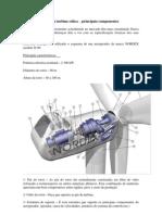 Constituição de uma turbina eolica
