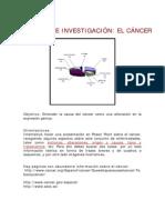 ACTIVIDAD DE INVESTIGACIÓN cancer