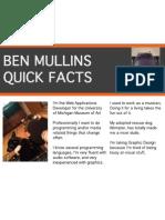 Lab 1 - Quick Facts