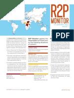 R2P Monitor January 2013