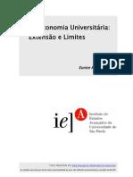 A Autonomia Universitária