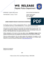ARMED ROBBERY/REQUEST ASSISTANCE IN IDENTIFICATION FROM PUBLIC