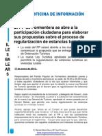 El PP de Formentera se abre a la participación ciudadana para elaborar sus propuestas sobre el proceso de regularización de estancias turísticas