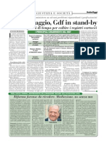 ANTIRICICLAGGIO -GdF in stand by